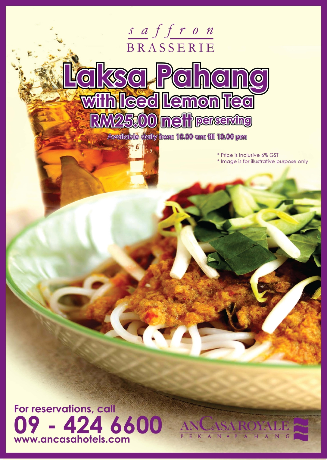 Poster Pekan Roasted Chicken